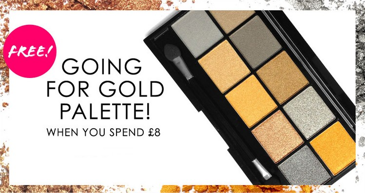 Bon plan | Palette Going For Gold gratuite!