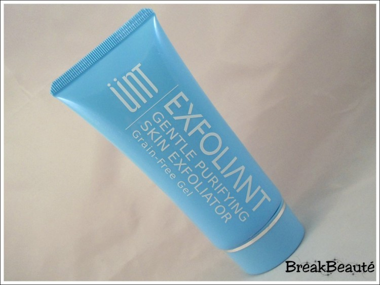 Gel exfoliant sans grain, Ünt