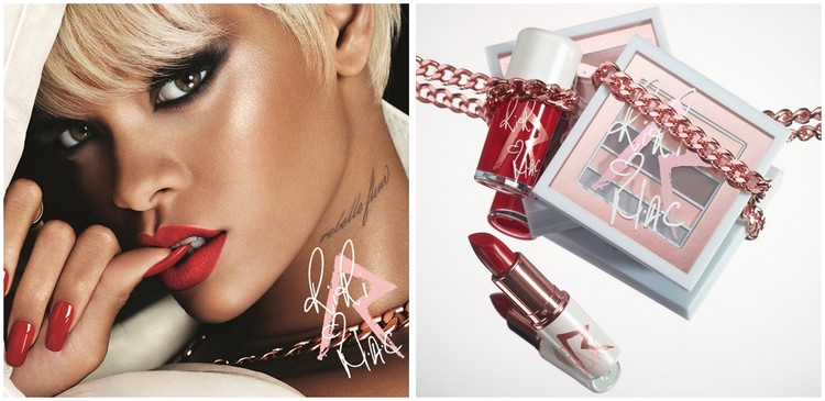 En bref: Les visuels de la collection RiRi ♥ MAC (Holiday)